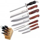 Proline 7pc Chef's Knife Set 440 Stainless Steel