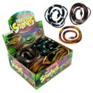 Rubber Toy Snakes - 24 Count