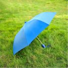 "41"" Blue Compact Auto Umbrella"