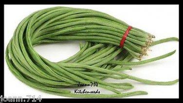 (50+)Yardlong Bean,White Seed,Asparagus Bean Seeds Vegetable Yard Long ,�ậu �ũa