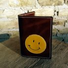 Credit Card Wallet For 4 Credit Cards With Yellow Smiley
