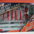 JB-00 Infinity Warfare Upgrade Kit Red Version for Decepticon Unicron MISB
