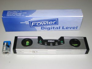 Fowler Digital Laser Level - Aircraft,Aviation,Automotive, Truck Tools