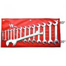 "3/8"" to 1-11/4"" 30, 60 degree Angle Wrench Set- Aircraft,Aviation Tools"