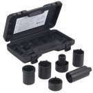 6 Pc 4WD Spindle Nut Socket Set