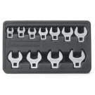 "11 Piece 3/8"" Drive SAE Crowfoot Wrench Set-Aircraft,Aviation,Automotive Tools"