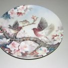 """The Bradford Exchange""""Melody At Daybreak"""" Plate With Certificate of Authenticity"""