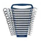 12 Piece Metric Flex Head Combination Ratcheting Set-Automotive Tools