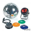 Mirrored Disco Ball Set