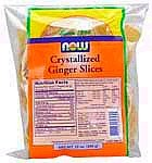 Crystallized Ginger Slices