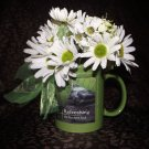 Teacher Poem Mug and Daisies
