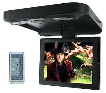 AUDIOBAHN 8 INCH TFT LCD COLOR MONITOR