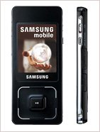 Samsung F300 (White / Lite Pack) - Unlocked GSM Phone