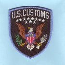 FEDERAL U.S. CUSTOMS UNIFORM PATCH