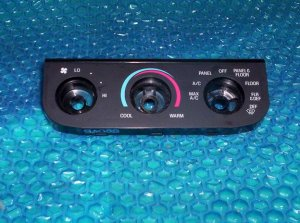 Ford pick-up 97-06 heater Control Faceplate P/N:9A08B stk#(2293)