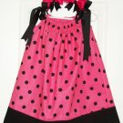 Pink Polkadot Pillow Case dress