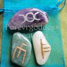 Goddess, Creaviity, Guidance bind Rune