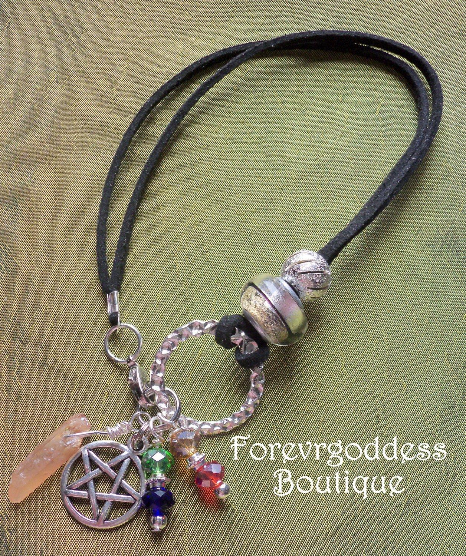Pentagram/ Sunshine aura point  Bracelet