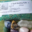 Spell Binding Salt/Herb Mix – green   item# SBG 01-02