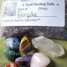 Spell Binding salt/herb mix – Purple  Item# SBPU 02-03