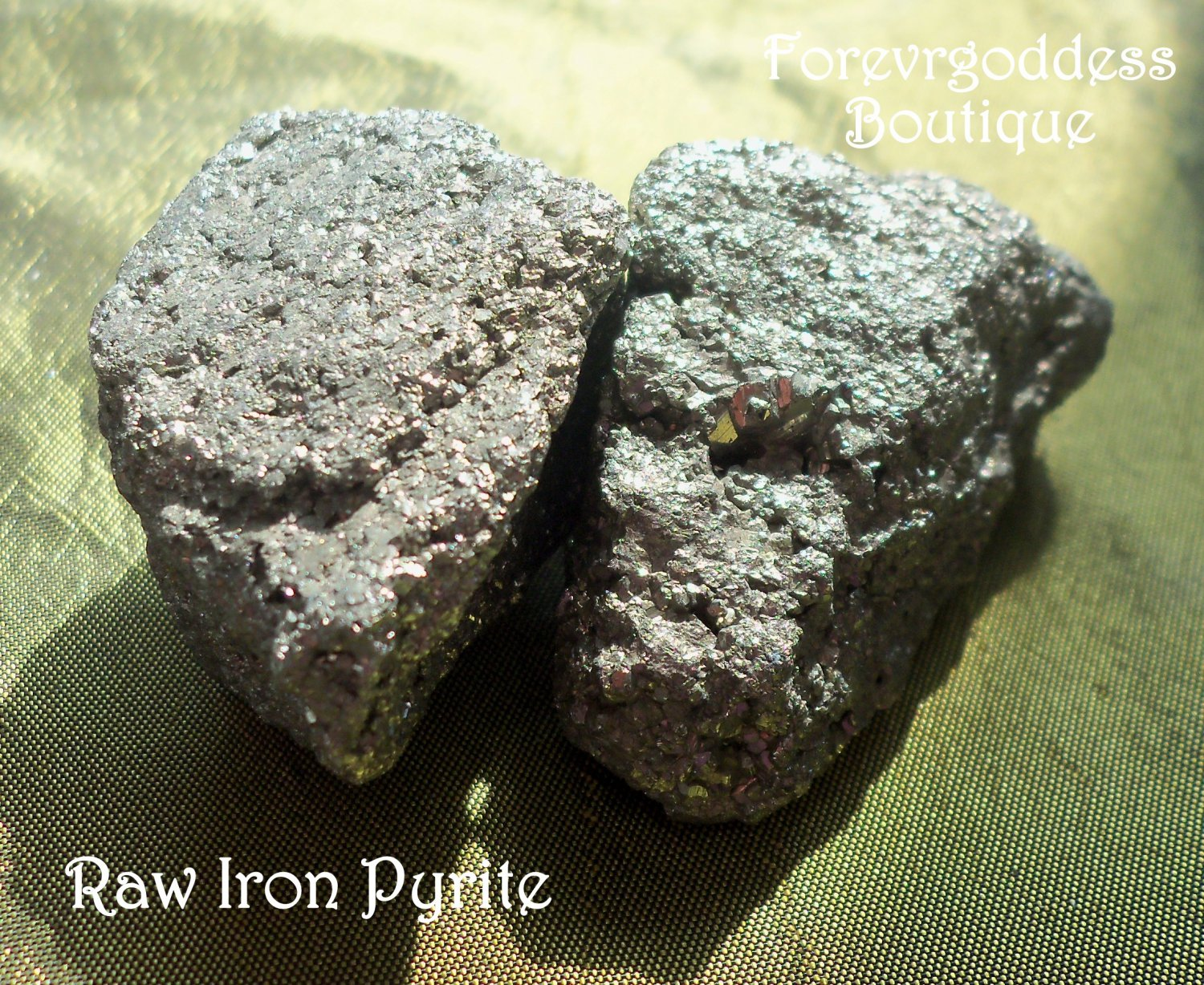 Raw Iron Pyrite ( fools gold) # PY01-02