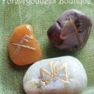 Positive outcome, luck, prosperity Bind runes