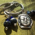 Sodalite  Keychain earrings