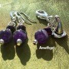 Amethyst  pet  pendant set