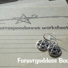 Spell worksheet and earring set