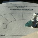Flourite Pendulum/ Worksheet