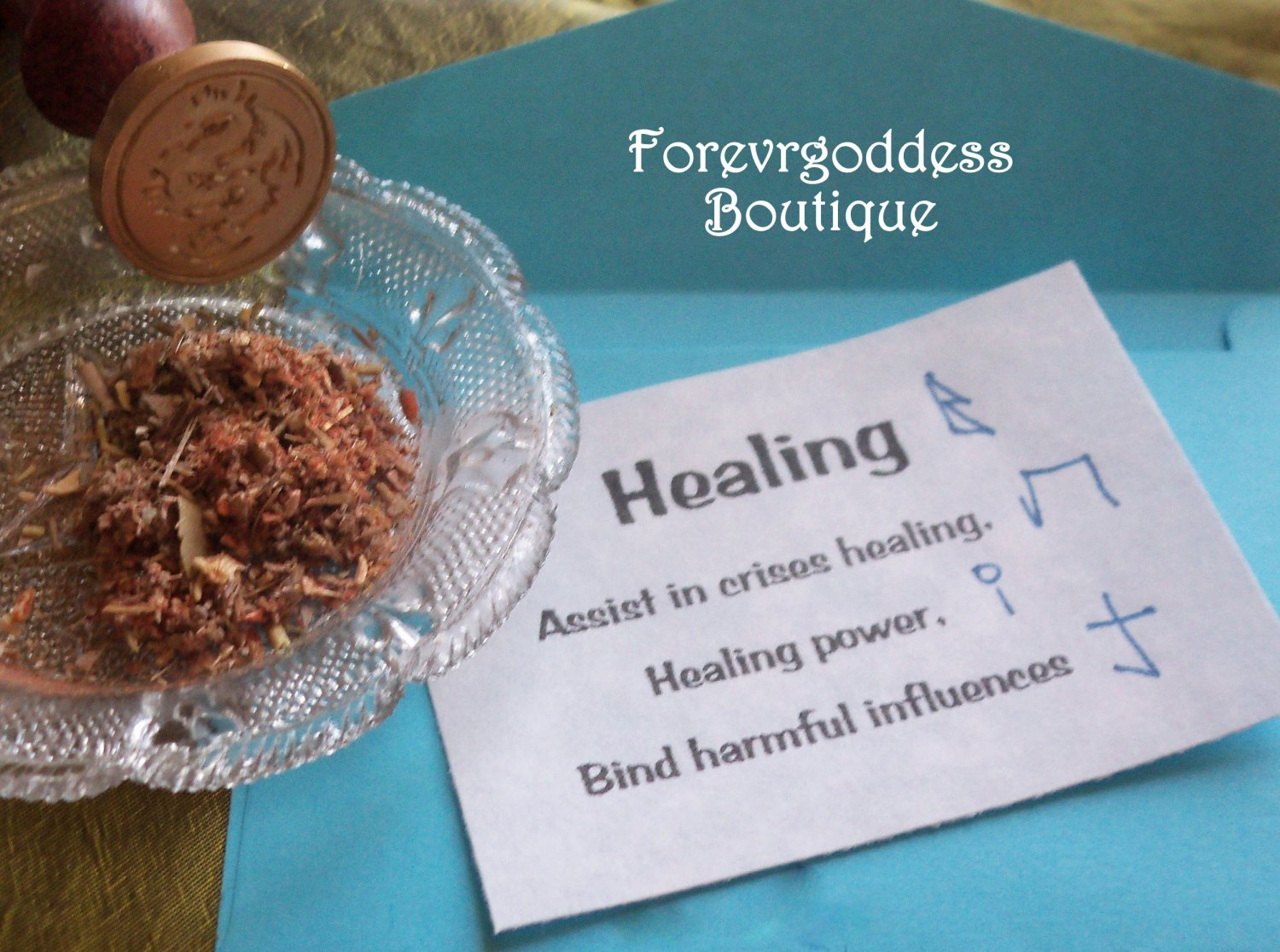 Enchanted offerings: Healing