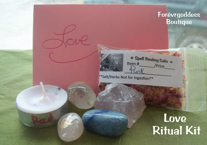 Love Ritual Kit  Item LRTK 01-02
