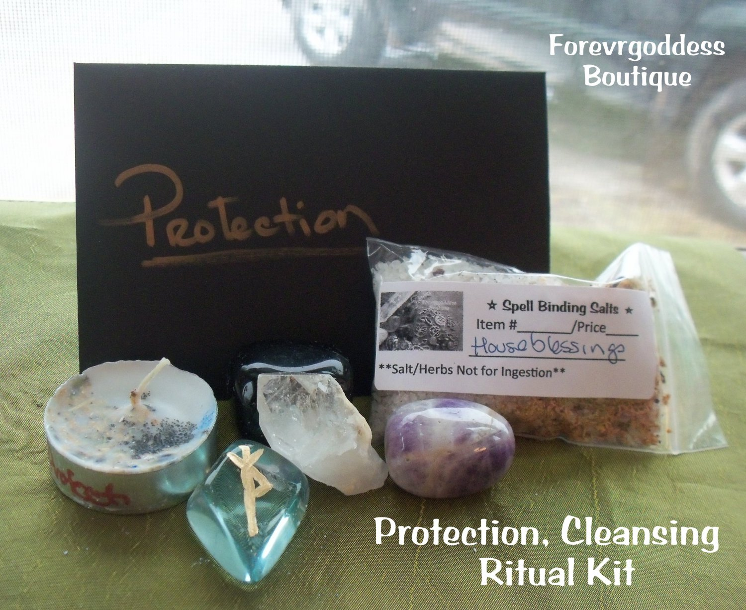 Protection  Ritual Kit  Item PRTK 01-02