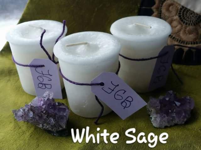 White Sage votive