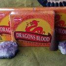 Hem Dragons blood cone incense