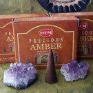 Hem Amber cone incense