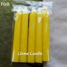 YELLOW chime candles