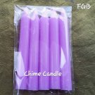 PURPLE chimes candles