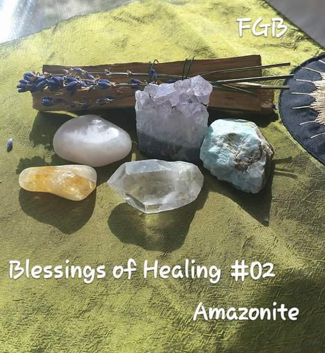 Gemstone Blessings kit Healing #02