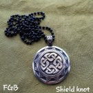 Shield Knot pendants
