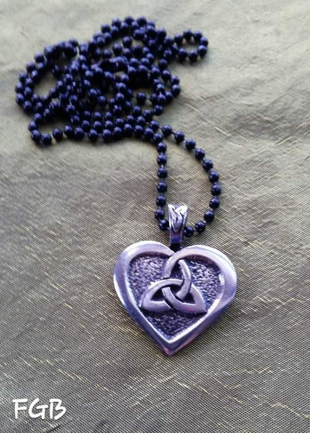 Celtic HEART pendants
