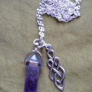 Celtic Goddess and amethyst point