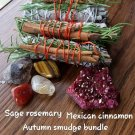 Autumn smudging bundle
