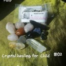 Crystal healing for a child #02 twin crystal
