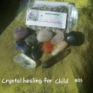 Crystal healing for a child #03 crystal quartz point