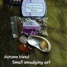 Small Autumn Blend smudge set