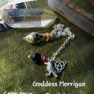 Goddess Morrigan pendulum