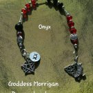 Goddess Morrigan prayer  beads