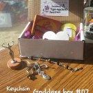 GODDESS BOX SET #07 Tiger eye Key chain