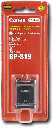 Canon BP 819 Camcorder battery - Li-Ion 1780 mAh - $33.